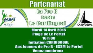 La Pro B - ESSM Le Portel teste le Cardiogoal